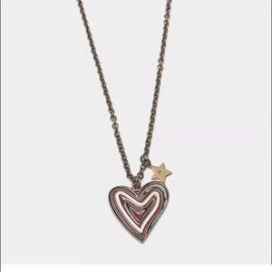 Dior hearts n hands necklace